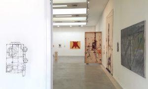 קובי סיבוני, קוים מפלסי דרך והתערוכה: דרכי אמנים בד' אמות