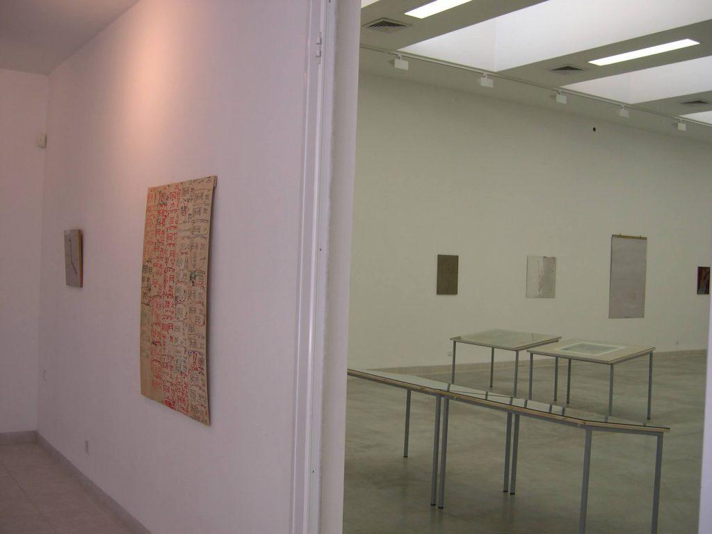 מצע לעת מצוא - חלל התערוכה
