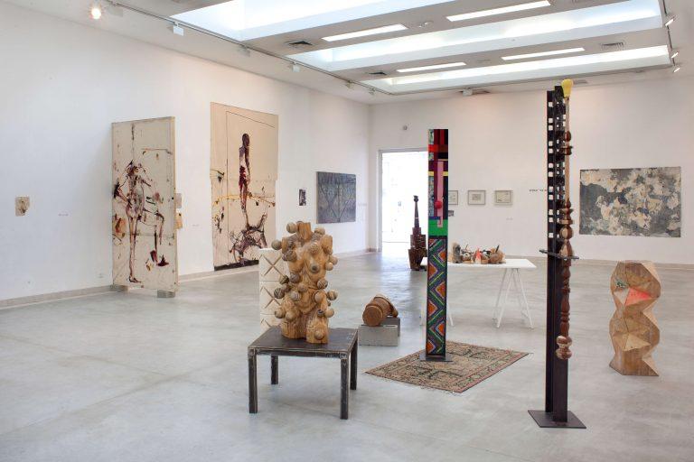 דרכי אמנים בד' אמות - חלל התערוכה