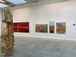 שדה ראייה - חלל התערוכה